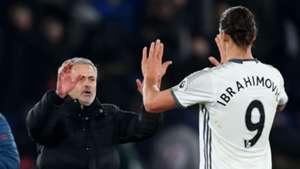 Jose Mourinho Zlatan Ibrahimovic