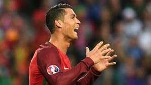 Cristiano Ronaldo Portugal Iceland Euro 2016