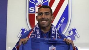 Carlos Tevez Shanghai Shenhua Chinese Super League 21012017