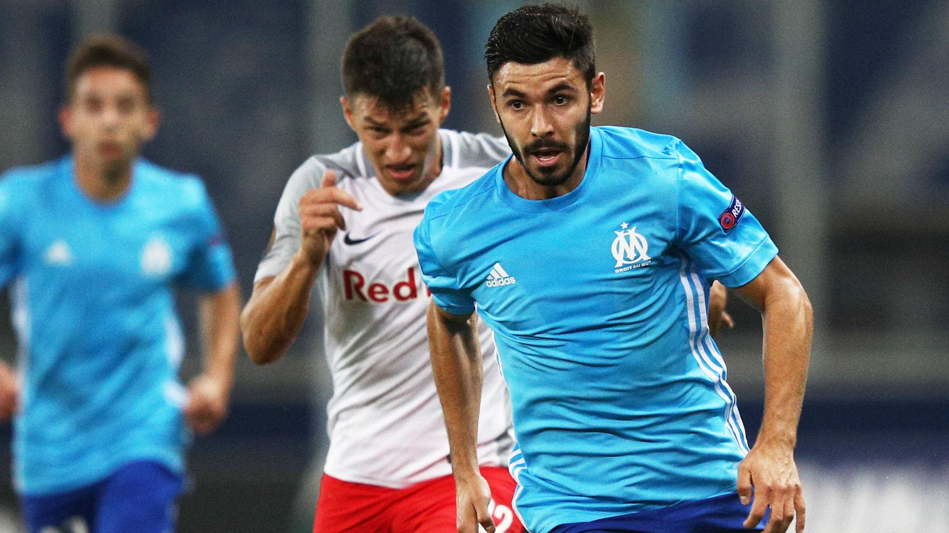 Morgan Sanson RB Salzburg Marseille UEFA Europa League 28092017