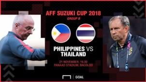 PREVIEW AFF SUZUKI CUP 2018 :ฟิลิปปินส์ - ไทย (นัดที่3)