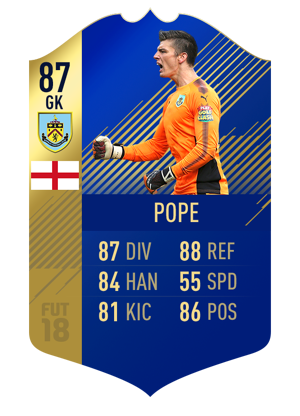 FIFA 18 Team of the Season Pope