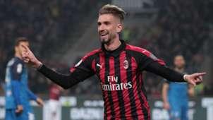 Samuel Castillejo Milan Empoli Serie A