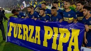 Bandera Benedetto Rosario Central Boca Fecha 10 Superliga Argentina 26112017