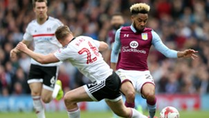 Jordan Amavi Tomas Kala Fulham Aston Villa Football League Championship 04172017