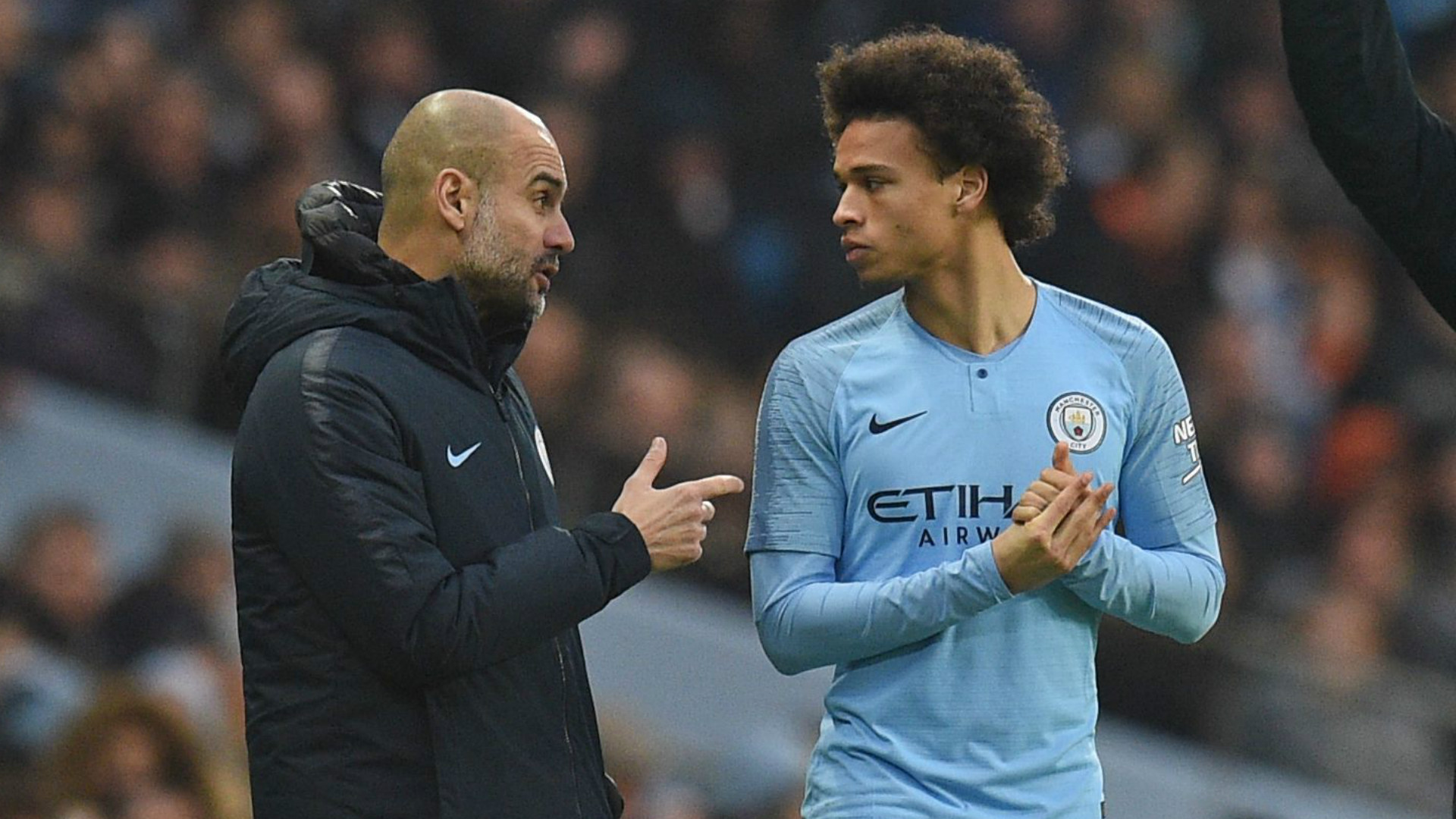 Man City boss Guardiola: Sane knows why he's not playing
