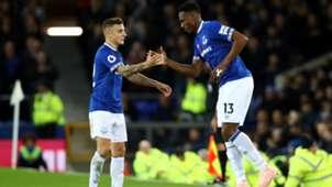 Yerry Mina Everton Premier League 2018