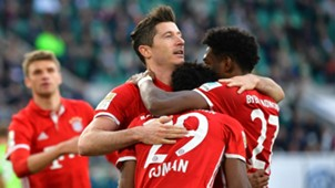 Lewandowski Bayern Wolfsburg