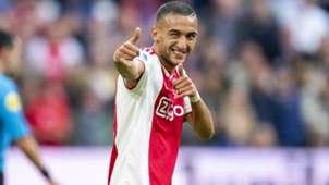 Hakim Ziyech Ajax Eredivisie 10072018
