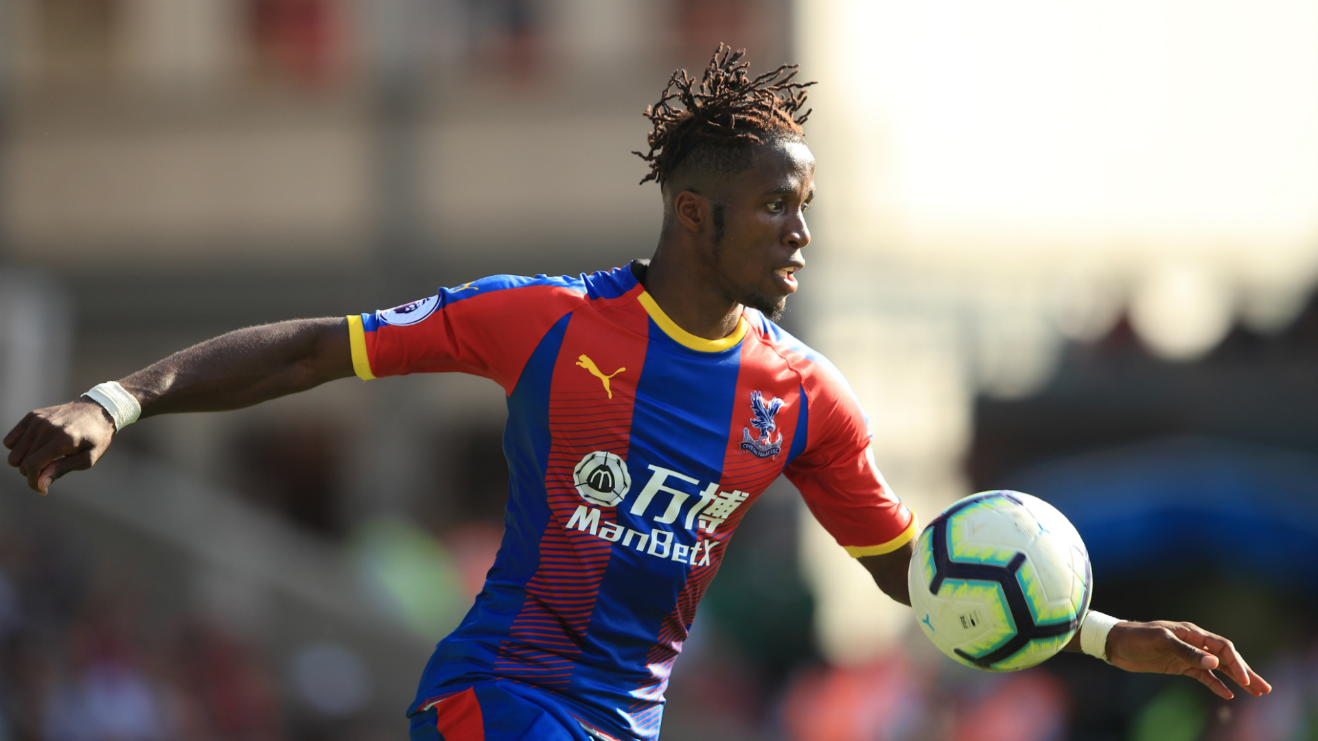 Wilfried Zaha, Crystal Palace vs. Toulouse, Friendly