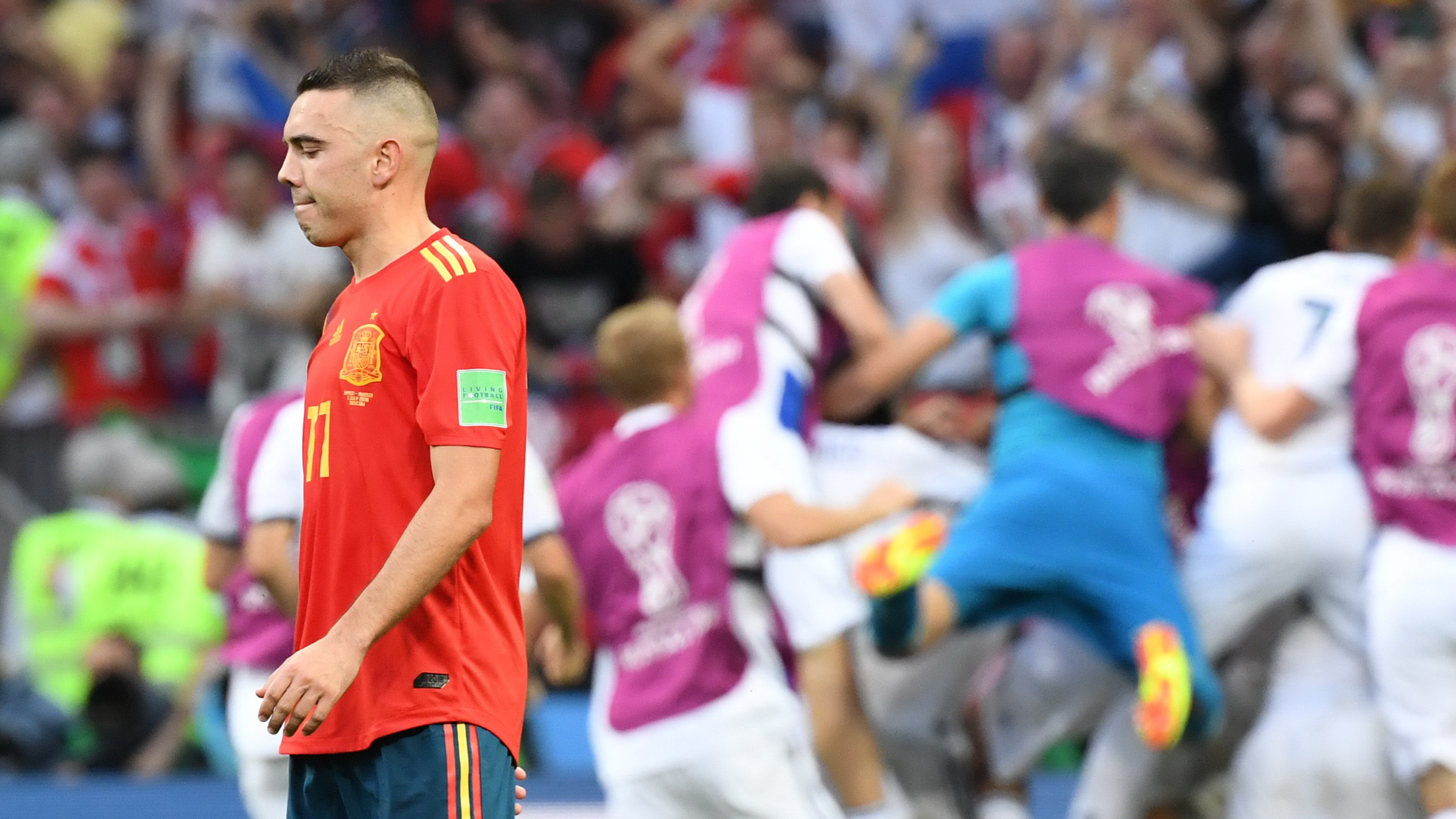 Iago Aspas Spain Russia World Cup 2018
