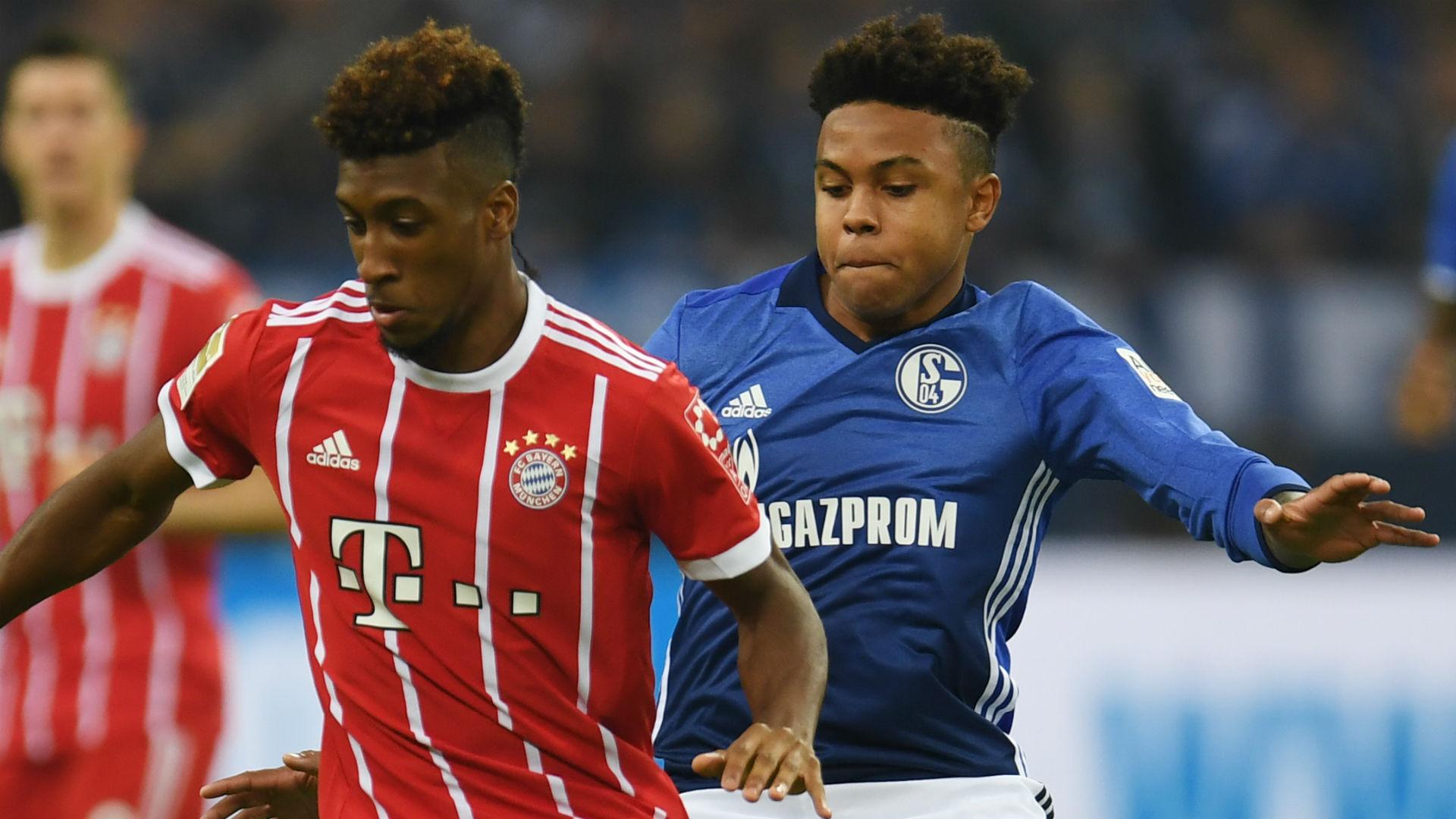 Jerome Boateng Weston McKennie Bayern Munich Schalke