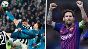 Cristiano Ronaldo Lionel Messi golazo