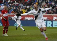 Zlatan Ibrahimovic Bastian Schweinsteiger Chicago Fire LA Galaxy MLS
