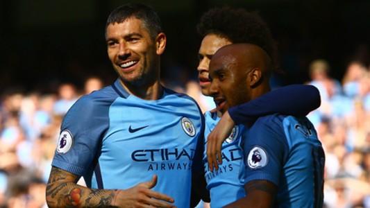 Aleksandar Kolarov Manchester City Premier League