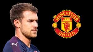 Aaron Ramsey Arsenal Man Utd