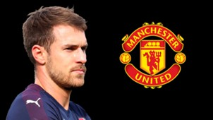 Aaron Ramsey Arsenal Man Utd