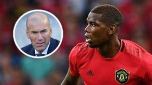 Zinedine Zidane Paul Pogba