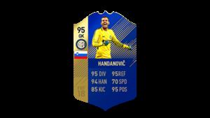 FIFA 18 Calcio A Team of the Season Handanovic