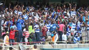 AFC Leopards fans at Kasarani.