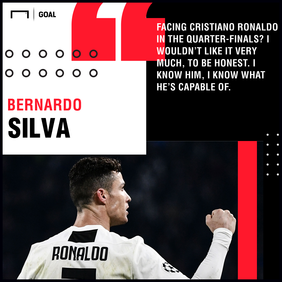 Bernardo Silva Cristiano Ronaldo Juventus PS