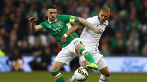 Robbie Brady Ruril Gislason Republic of Ireland Iceland 28032017