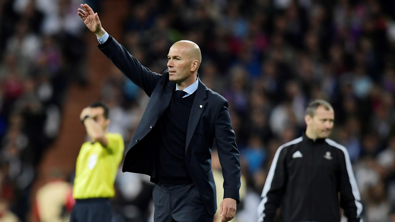 Zinedine Zidane Real Madrid Bayern Munich UCL 01052018