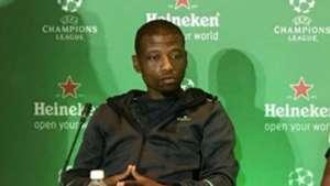 Khris Njokwana at the Heineken UCL Presser