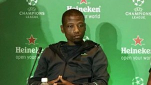 Khris Njokwana at the Heineken UCL Presser
