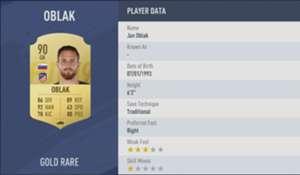 FIFA 19 4 Oblak