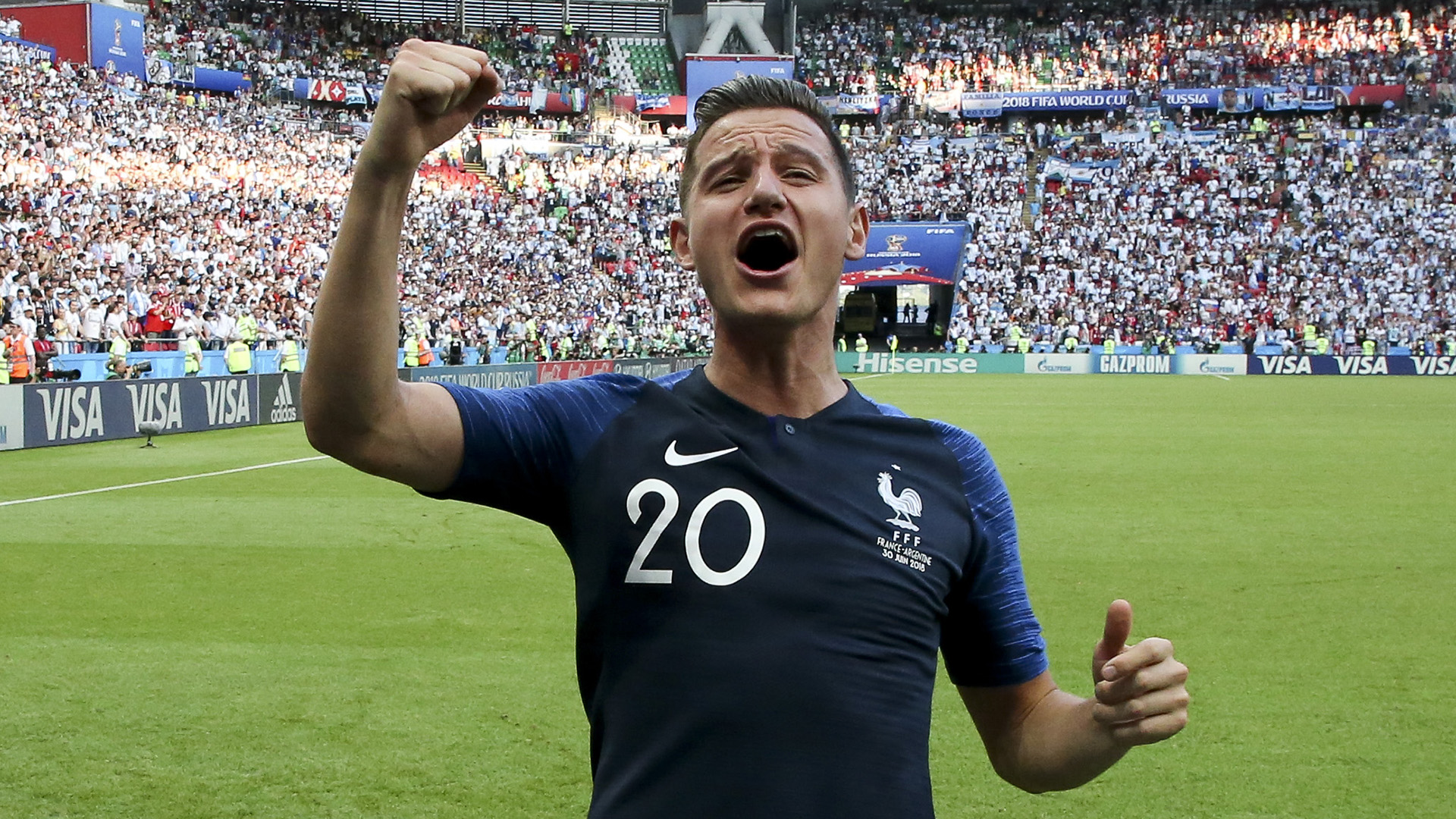 Florian Thauvin France World Cup 2018