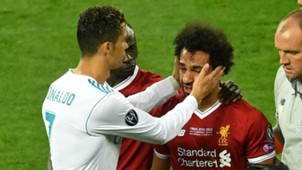 Cristiano Ronaldo Mohamed Salah Champions League final 2017-18