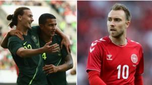 Australia Denmark split