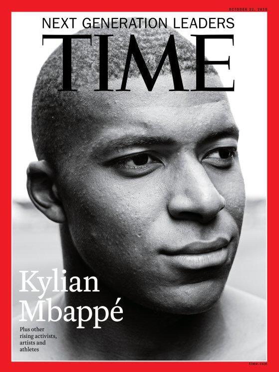 Kylian Mbappe Time magazine