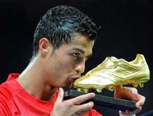 Cristiano Ronaldo Manchester United Golden Boot