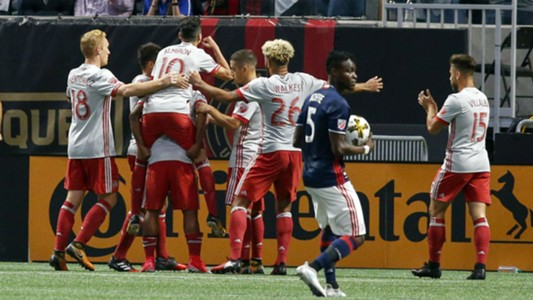 Atlanta United celebrate