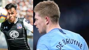 240319 Gabriel Suazo Kevin de Bruyne Colo Colo Manchester City