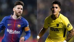 Lionel Messi Cristian Pavón Barcelona Boca