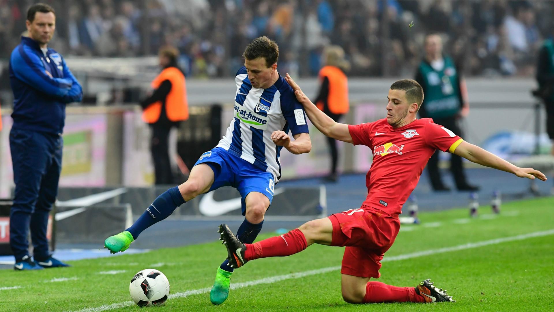 Vladimir Darida Diego Demme Hertha RB Leipzig