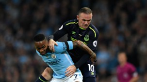Raheem Sterling Wayne Rooney Man City Everton