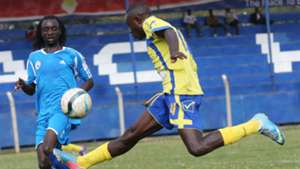 Moses Odhiambo of Sofapaka and Fredrick Shimonyo