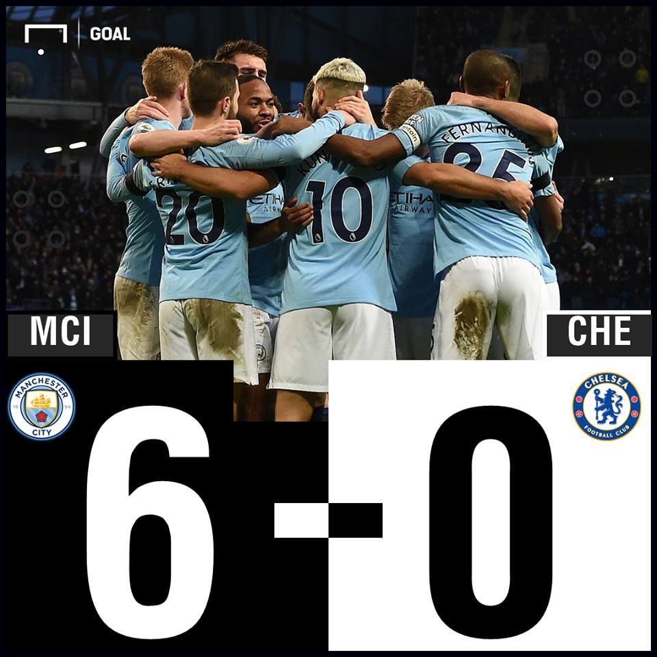 Manchester City vs Chelsea Result