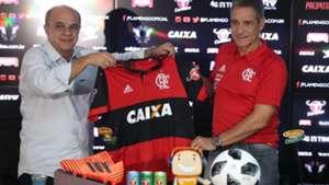 Paulo Cesar Carpegiani Flamengo apresentação 09 01 18