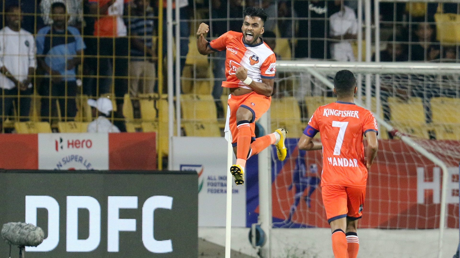 Brandon Fernandes FC Goa Delhi Dynamos ISL 5