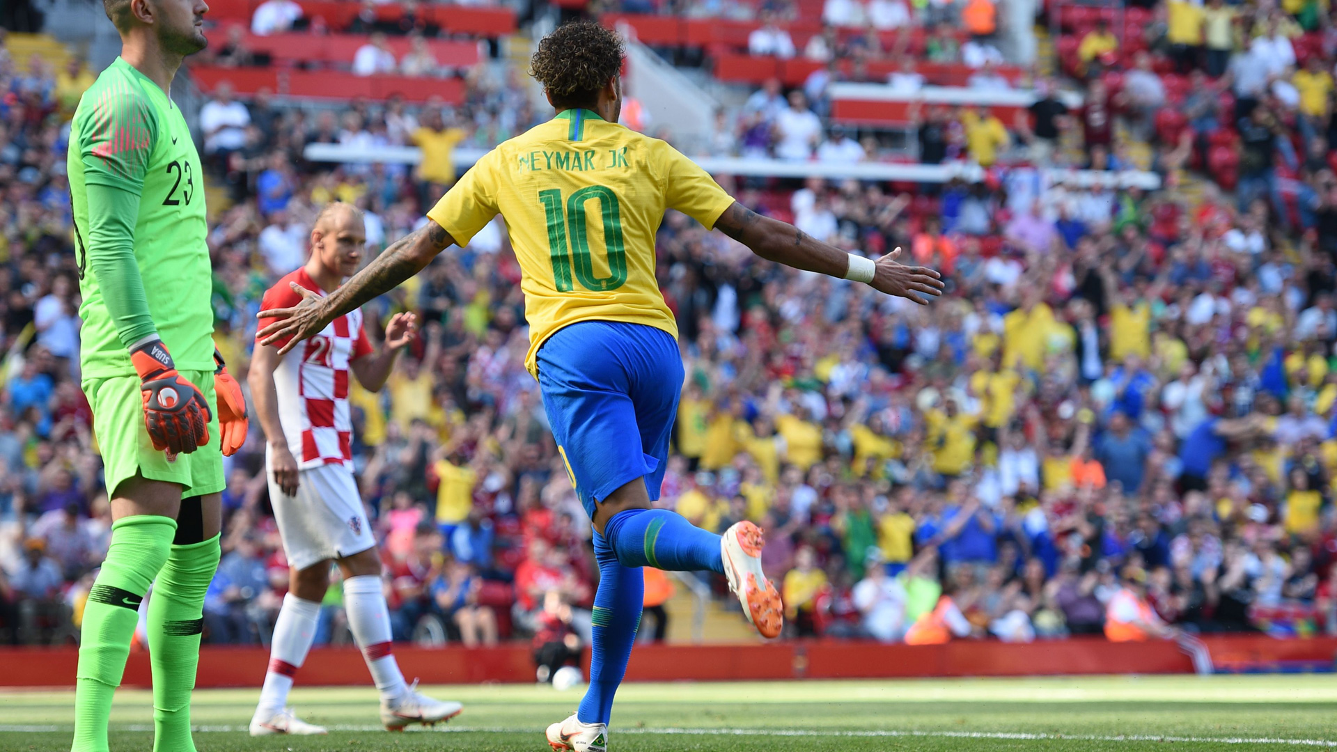 Russian Federation  2018: Neymar led Brazil thrash Austria in final warm up match
