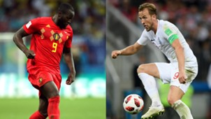 Harry Kane England Romelu Lukaku Belgium