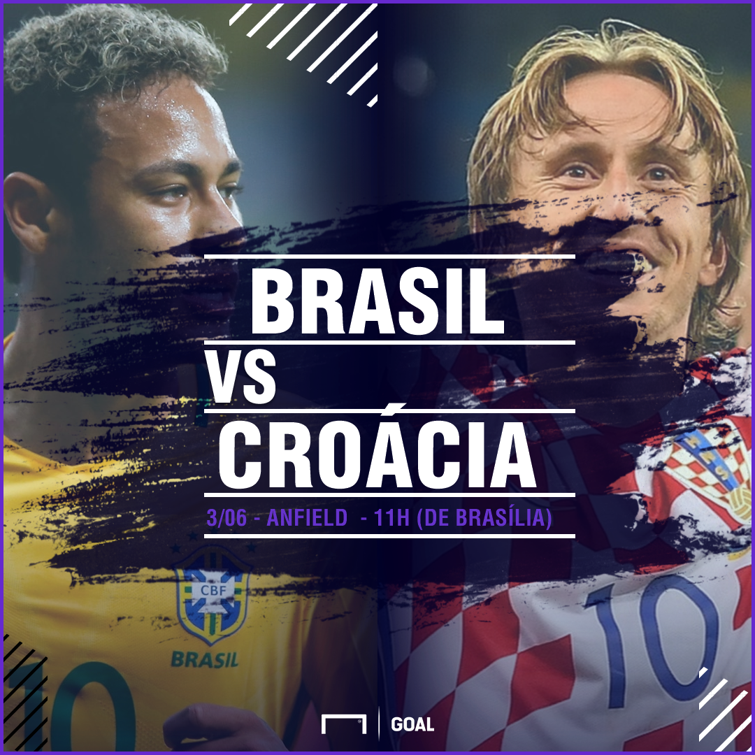 Brasil x Croácia PS - 16/04/2018