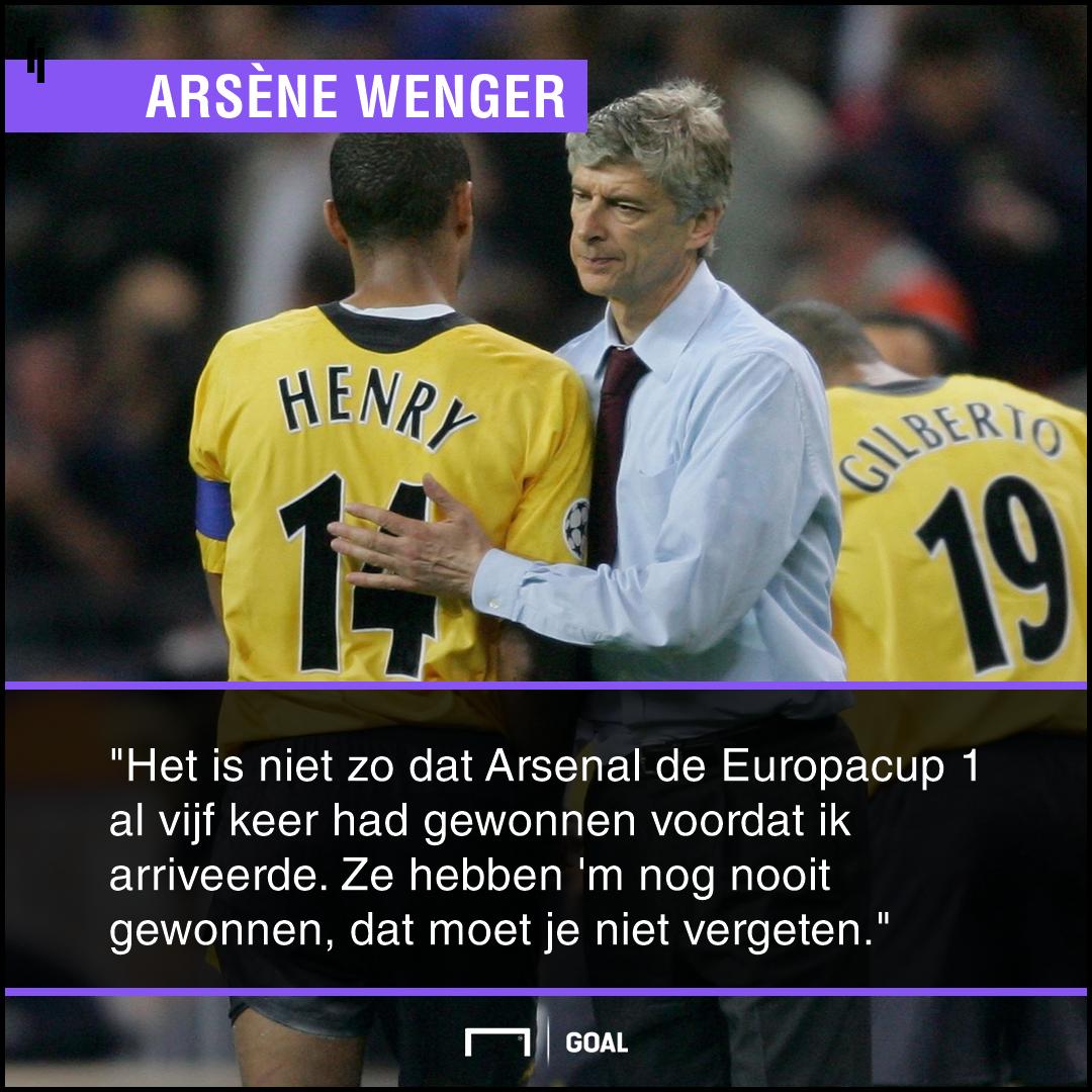 GFX Arsène Wenger, Arsenal