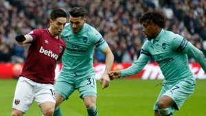 West Ham Arsenal 120119