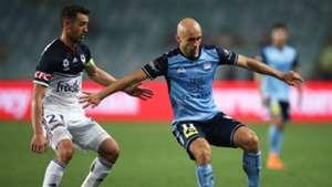 Carl Valeri/Adrian Melbourne Victory/Sydney FC